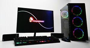 """Gaming PC Bundle 27"""" Ryzen 5 3600 16 GB DDR4 240 SSD 1TB HDD GTX 1650 1660 Super"""