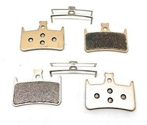 2 Bike brake pads sintered for Hope E4, DBP/59, Mono, Tech 3, Tech Evo.