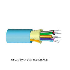 1000' COMMSCOPE 760018556 24F OM3 Lazer Optimized 50µm Gelfree Aqua CMR TB Cable