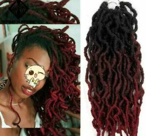 12 INCH curly  CROTCHET Faux Locs Crochet Braids marley Dred locs Braid.