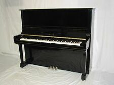 LITTLE & LAMPERT PIANOS YAMAHA U3 UPRIGHT PIANO, BEAUTIFUL TOUCH & TONE