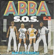 "45 TOURS / 7"" SINGLE--ABBA--SOS / MAN IN THE MIDDLE--1975--GERMAN PRESS"