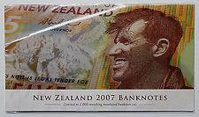 2007 New Zealand Banknote Set !!!!! SCARCE