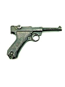 WW2 German Metal Luger Movie Prop Gun 9MM Replica (W1)