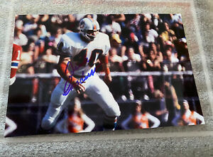 Dolphins Legend  DICK ANDERSON  Autographed 4 x 6 Glossy Photo