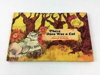 Children's Vintage Hardcover Book There Once was a Cat by Cheryl Pelavin 1969