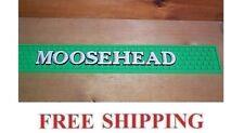 MOOSEHEAD BEER BAR MAT RUNNER BEER COASTER 23.5x3.5 NEW