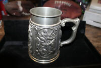Vintage Pewter Royal Geographical Society Sesquicentennial Tankard 1980
