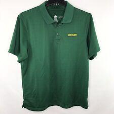 Baylor Bears Adidas Climalite Polo Shirt L Green
