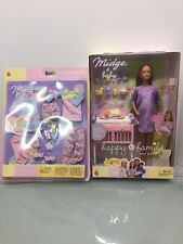 2002 Happy Family Pregnant Midge Barbie Doll with Baby-w extra Outfit