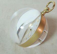 STUNNING RARE Vintage TIFFANY & Co. / ImHof 8 Day 15 Jewels Acrylic Ball Clock