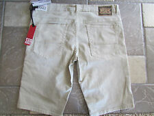 NEW I-JEANS BY BUFFALO SPENCER SLIM FIT SHORTS MENS 36 SAND COLOR FREE SHIP