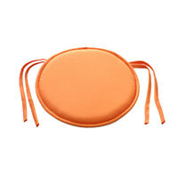 Circular/Round Bistro Tie-on Kitchen/Dining/Patio Chair Seat Pad Cushions UK STO