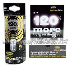 Ring Xenon Ultima 120% più luminoso H1 RW1248 100% GAS Auto Testa Luce Lampadina + GRATIS