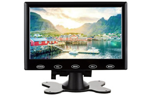 9 inch stand alone lcd monitor screen with USB SD mp3 movie player