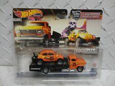 Hot Wheels Team Transport Orange Volkswagen Baja Bug Horizon Hauler