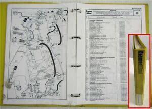 Kramer Allrad 312SL Schaufellader Ersatzteilliste Ersatzteilkatalog 1988