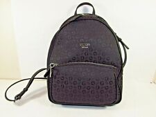 "NWT GUESS ""Rockbeat"" Backpack hand/shoulder bag in black FREE USA shipping"