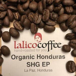 Honduras SHB EP Organic Fresh Hand Roasted 100% Arabica Coffee Beans/Grounds
