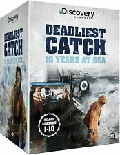 Deadliest Catch 10 Years at Sea The Complete Seasons 1 2 3 4 5 6 7 8 9 & 10 DVD