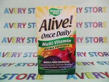 Natures Way Alive Once Daily Multi-Vitamin Men and Women Ultra Potency 60 tabs
