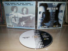 CD SONGS TO NO ONE - 1991-1992 - JEFF BUCKLEY - GARY LUCAS