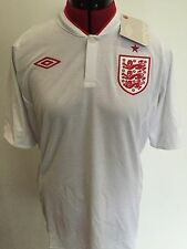 BNWT Final Issue Official Umbro Euro 2012 Replica England Shirt Size 40 Men 2016