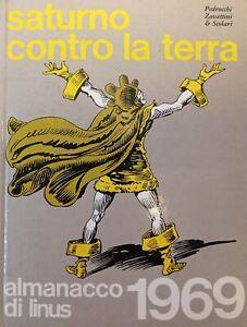 Almanacco Linus - Pedrocchi Zavattini e Scolari - Saturno contro la Terra - 1969