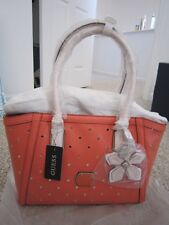 GUESS Hula Girl Uptown Carryall Purse Satchel, Large, Brand New Sealed with tag