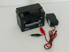 Battery and Charger  Aeon 50 90 100 Benzai Atv BATTERY SEALED AGM YTX4LBS UT4L