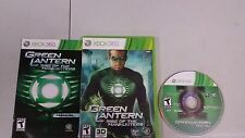 Green Lantern: Rise Of The Manhunters, Xbox 360 Complete.