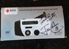 Jim Cantore Signed hand crank radio FR150 MICROLINK NOAA Weather Channel AUTOGRA