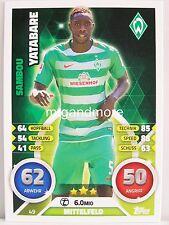 Match Attax 2016/17 Bundesliga - #049 Sambou Yatabare - SV Werder Bremen