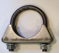 "1 7/8 inch Heavy Duty Muffler Clamp - GM Style - 3/8 U BOLT - MADE IN USA 1 7/8"""