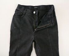 Rachel Comey Charcoal Grey Faded Black Stretch Flare Jeans Size 2