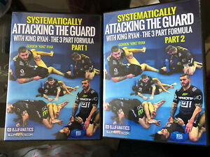 Gordon Ryan Systematically Attacking The Guard physical DVD