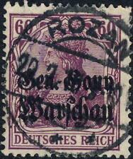 "GEN.-GOUV. WARSHAU / Deutsche Bes. Polen 1918 Mi.16a used "" ROZAN "" (Różan,"
