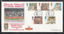 GB Great Britain FDC 1994 - Christmas / Football Aston Villa