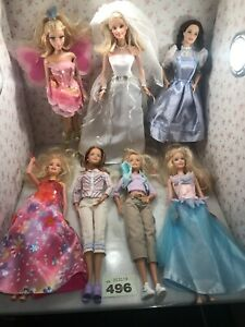 7x RARE Barbie Dolls Dorothy BLUSHING BRIDE midge TANNER fairy elina SECRET DOOR