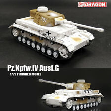 DRAGON WWII GERMAN Pz.Kpfw.IV Ausf.G 1/72 tank  model finished non diecast