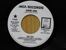 Kiki Dee dj 45 SUPER COOL / LOVING AND FREE   MCA VG++ soul