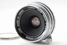 EXC+++! Canon 28 mm F / 2.8 lens L39 With Leica mount filter from Japan