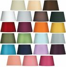 Oaks Lighting Cotton Drum Lamp Shade 14 inch S901/14 BK BL CO CR GR PL RD SG WH