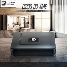 Digoo 4 8 12CH HDMI 1080P P2P Standalone ONVIF 2.4 NVR Recorder IP Camera System