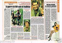 Coupure de presse Clipping 1990 (1 page 1/2) Film L'Enfer du devoir Viet nam