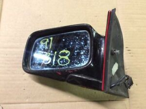 USED DRIVER LEFT SIDE VIEW MIRROR POWER NON HEATED FITS 87-93 BMW 325i