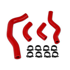 Silicone Radiator Line Hose Kit For Honda CRF450X 2005-2011 2012 2013 2014 Red
