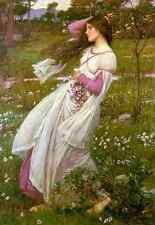 John William Waterhouse Windswept A4 Print