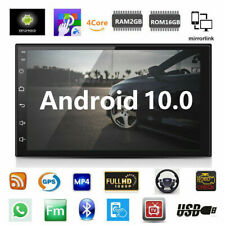 """Android 10 Car Stereo Gps Navigation Radio Player Double Din Wifi 7"""""""
