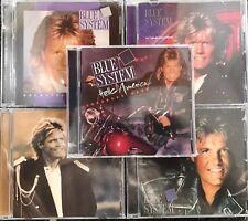 LOT OF 5 CDs Blue System ( AUDIO CDs in JEWEL CASE )